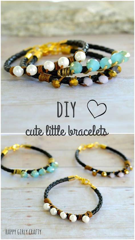 leather beaded bracelet diy diy leather bead wrapped braceletmake this beginner