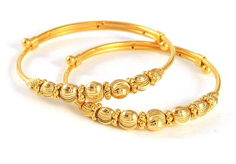 Gold Baby Gold 2 by 2kt Gold Baby Jewelry Bangles Bjba4106 22kt Gold Baby