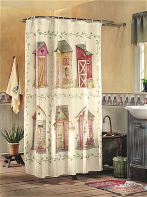 outhouse shower curtains collections etc find unique online gifts at