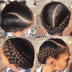 2 braids in front hair hairstyle hair 25 best ideas about black braided hairstyles on pinterest