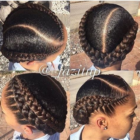 two french braid hairstyles for black women best 25 two cornrow braids ideas on pinterest 2 cornrow
