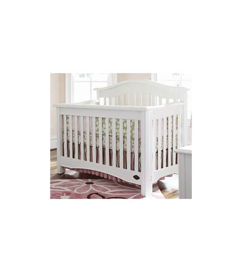 Bonavita Cribs Reviews by Bonavita Lifestyle Ii Hudson Crib In Classic White