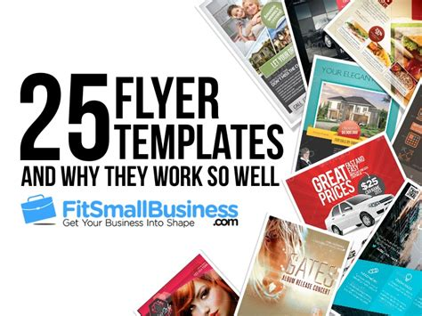 Best Templates For Small Business Top 25 Flyer Templates For Small Businesses