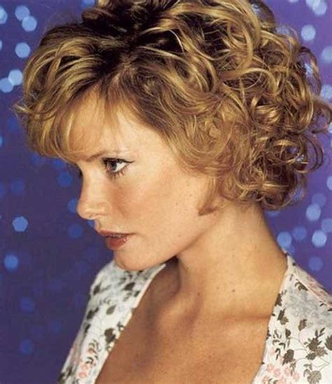 hairstyles curly hair over 40 15 best ideas of short haircuts for women over 40 with