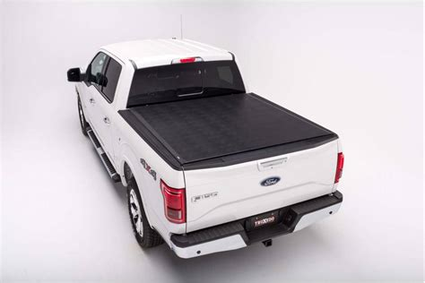 Bed Cover 2015 Ford F 150 8 Bed 2015 2018 Truxedo Titanium Tonneau Cover