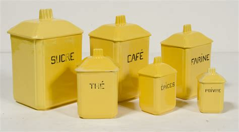 Yellow Canister Sets Kitchen Luxury Yellow Kitchen Canister Set Taste
