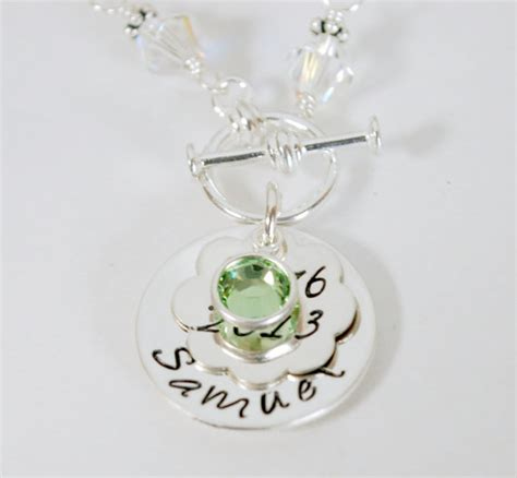 baby name necklace custom new gift personalized mothers