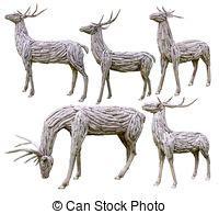decorative reindeer antlers reindeer antlers made from wood decorative wooden