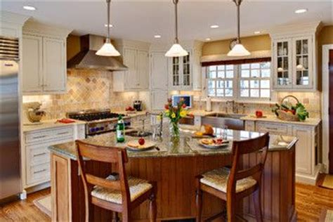 Triangle Shaped Kitchen Island Angled Island For The Home Kitchens With
