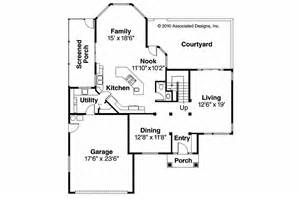southwest floor plans southwest house plans bellaire 11 050 associated designs