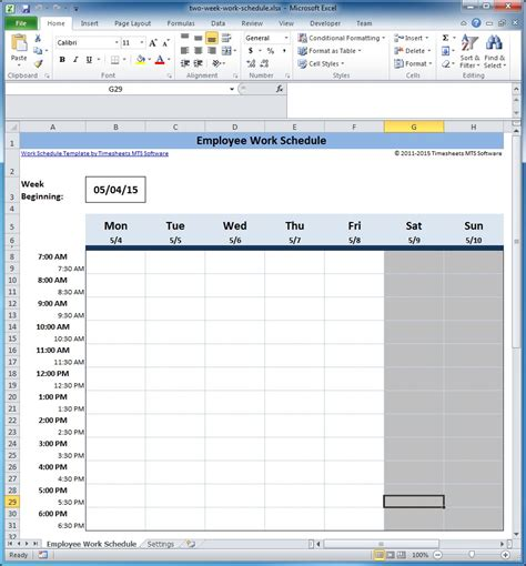 weekly schedule excel excel template for scheduling employees excel