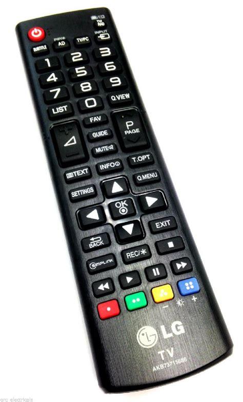lg tv remote control  lfv ufv lfv