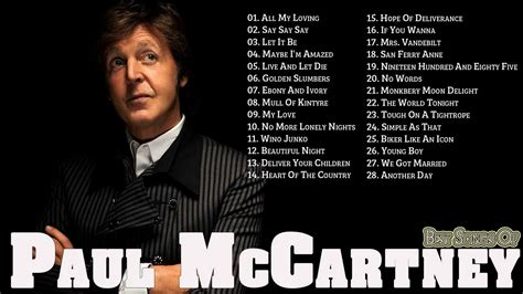 best paul mccartney songs paul mccartney greatest hits best of paul mccartney