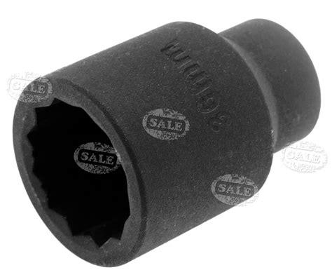 Kunci Sock Impact 75mm 1 Drive Impact Socket Metric Crossman Usa new 1 2 quot sq drive 36mm impact socket 12 point bi hex 75mm length ebay
