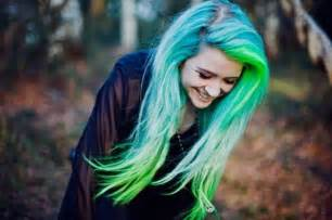 17 blue green ombre now i m biased to purple but this bright