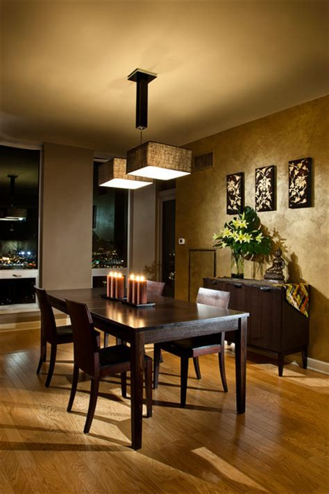 Condo Dining Room Ideas by Chicago South Loop Condo Dining Room Chicago