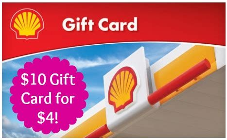 Gift Card Groupon - hot 10 shell gift card for only 4 for select groupon members
