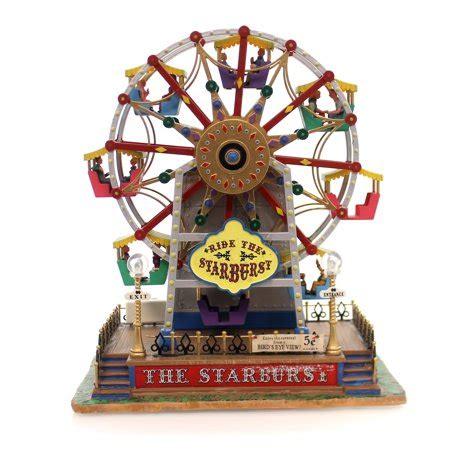 the starburst ferris wheel starburst ferris wheel plastic lemax kiddie ride carnival 64489 walmart