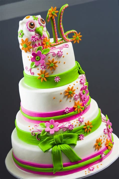 colorful cake     sweet     girl  love  cake  frosted