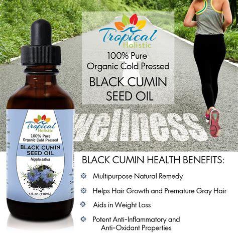 Black Cumin Seed And Liver Detox by Organic Black Seed 4 Oz Tropical Holistic