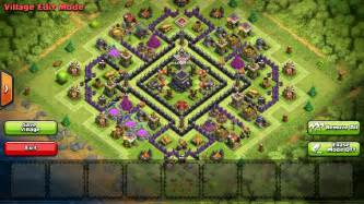 Base anti hog and anti air th9 war base i made looking for feedback