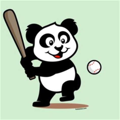 Panda Baseball baseball t shirts gifts