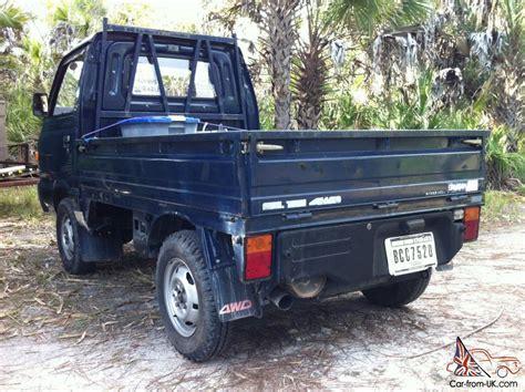 subaru mini pickup 1987 subaru sambar mini truck 4x4 kei japanese pick up truck