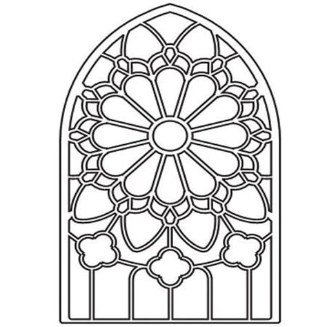 coloring page for window free printable stained glass window coloring pages