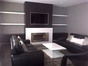 modern tv wall units with fireplace the world s catalog of ideas