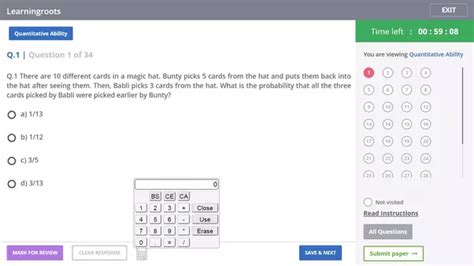 Mba Even Calculator by Is The Use Of A Calculator Allowed In The Cat Quora