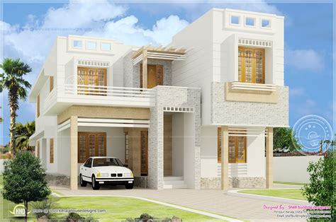 beautiful homes interior design beautiful 4 bedroom house exterior elevation kerala home