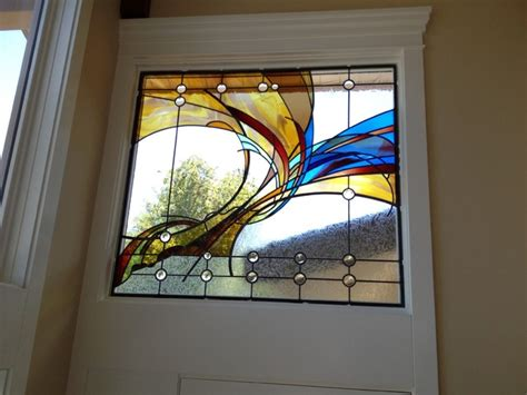 Garage Floor Paint Designs contemporary stained glass contemporary living room