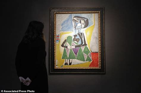 picasso painting recent sale ap newsbreak 20m 30m picasso portrait of muse up for