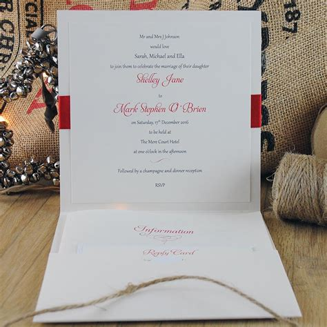 the wedding invitation boutique winter wedding stationery inspiration part 1 santa baby