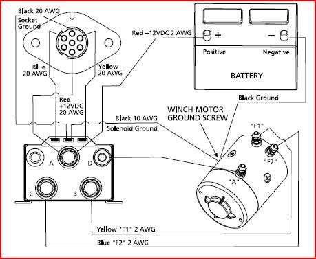 help with in cab winch for superwinch schematic