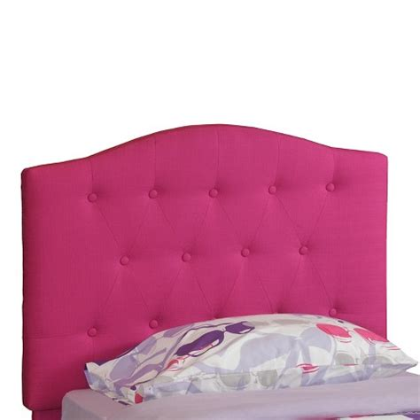 pink tufted headboard twin powell tufted kids headboard pink twin target