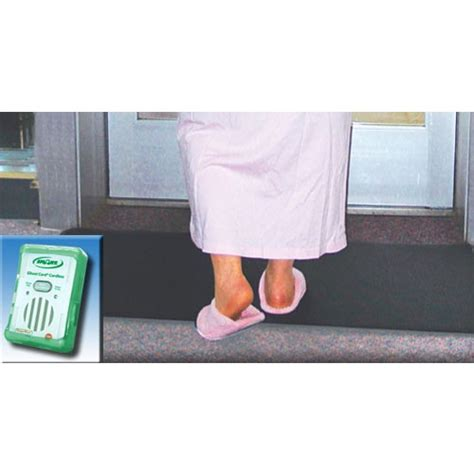 Doormat Alarm - fallguard wireless alarm with floor mat sensor fm07c