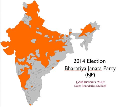 on indian election india electoral geography geocurrents
