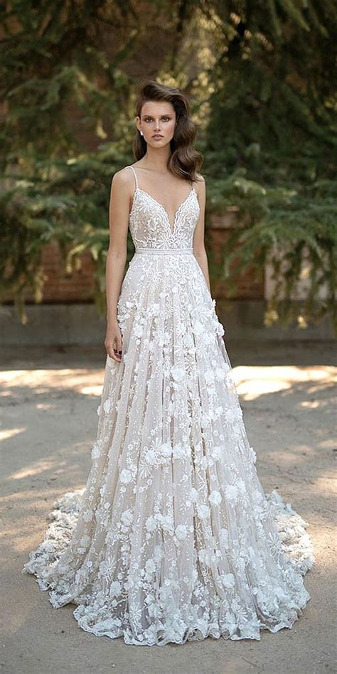 Pretty Gowns For Weddings by 25 Best Ideas About Floral Wedding Dresses On