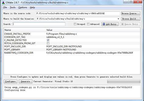 Windows下编译RabbitMQ-C - 獠的专栏 - CSDN博客 Rabbitmq C