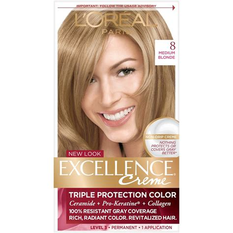 l oreal excellence creme haircolor medium 8 ebay upc 071249210697 l oreal excellence protection permanent hair color creme
