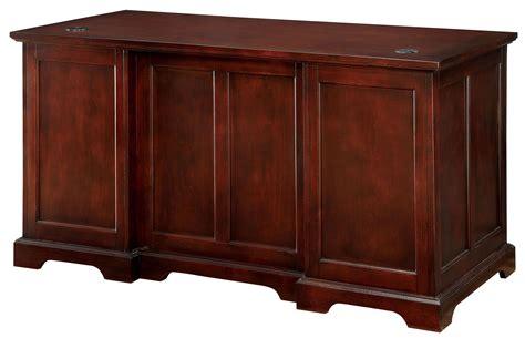 desmont cherry office desk cm dk6207d furniture of america