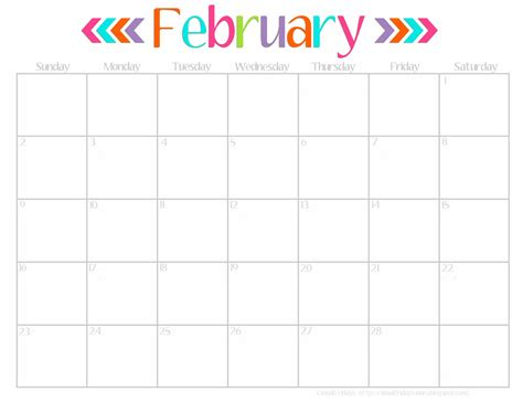 cute february 2014 calendar printable www pixshark com