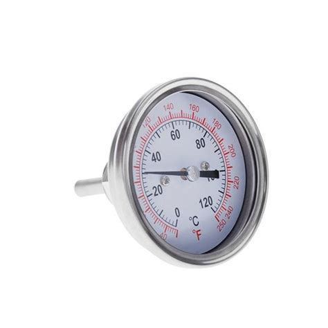 Jual Termometer Oven Stainless Steel Analog Thermometer Max 300c 0 250 stainless steel analog end 5 20 2018 9 15 pm