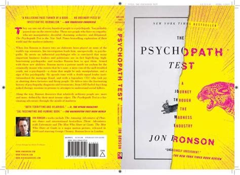 psychopath test the psychopath test a journey through the madness