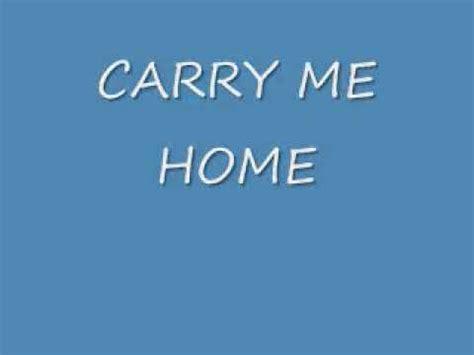 aaron shust carry me home