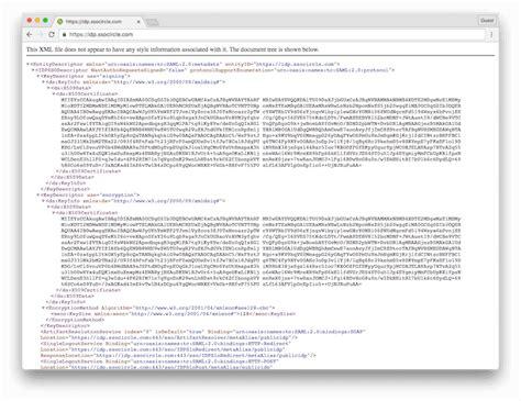 xml metadata tutorial ssocircle