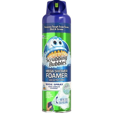 Bathtub Cleaner by Shop Scrubbing Bubbles 20 Oz Shower And Bathtub Cleaner At