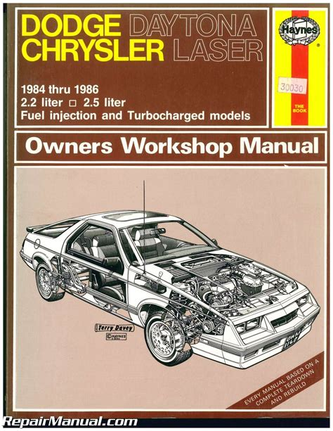 small engine service manuals 1984 dodge daytona electronic toll collection 1984 dodge daytona service and repair manual service