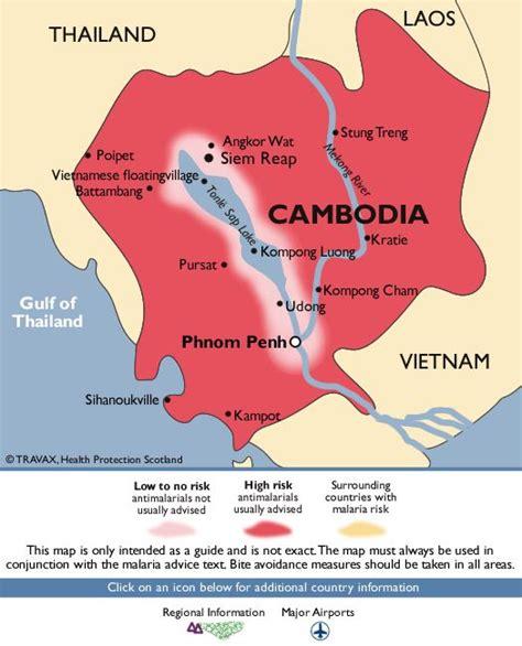 malaria south america map cambodia malaria map travel health and safety